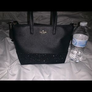Kate Spade Ina Greeta Court glitter bag